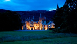 For a holiday with a difference rent Aldourie Castle