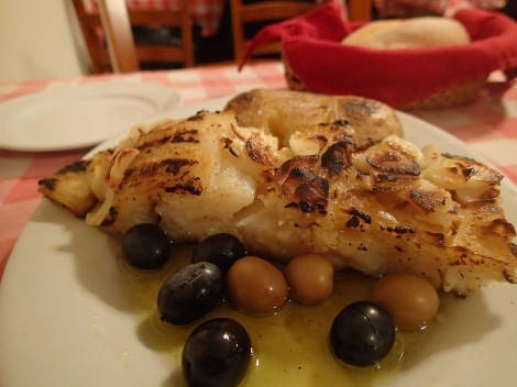 Grilled Codfish, a classic -A Petisqueira