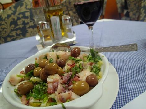 Octopus Salad - O Santos