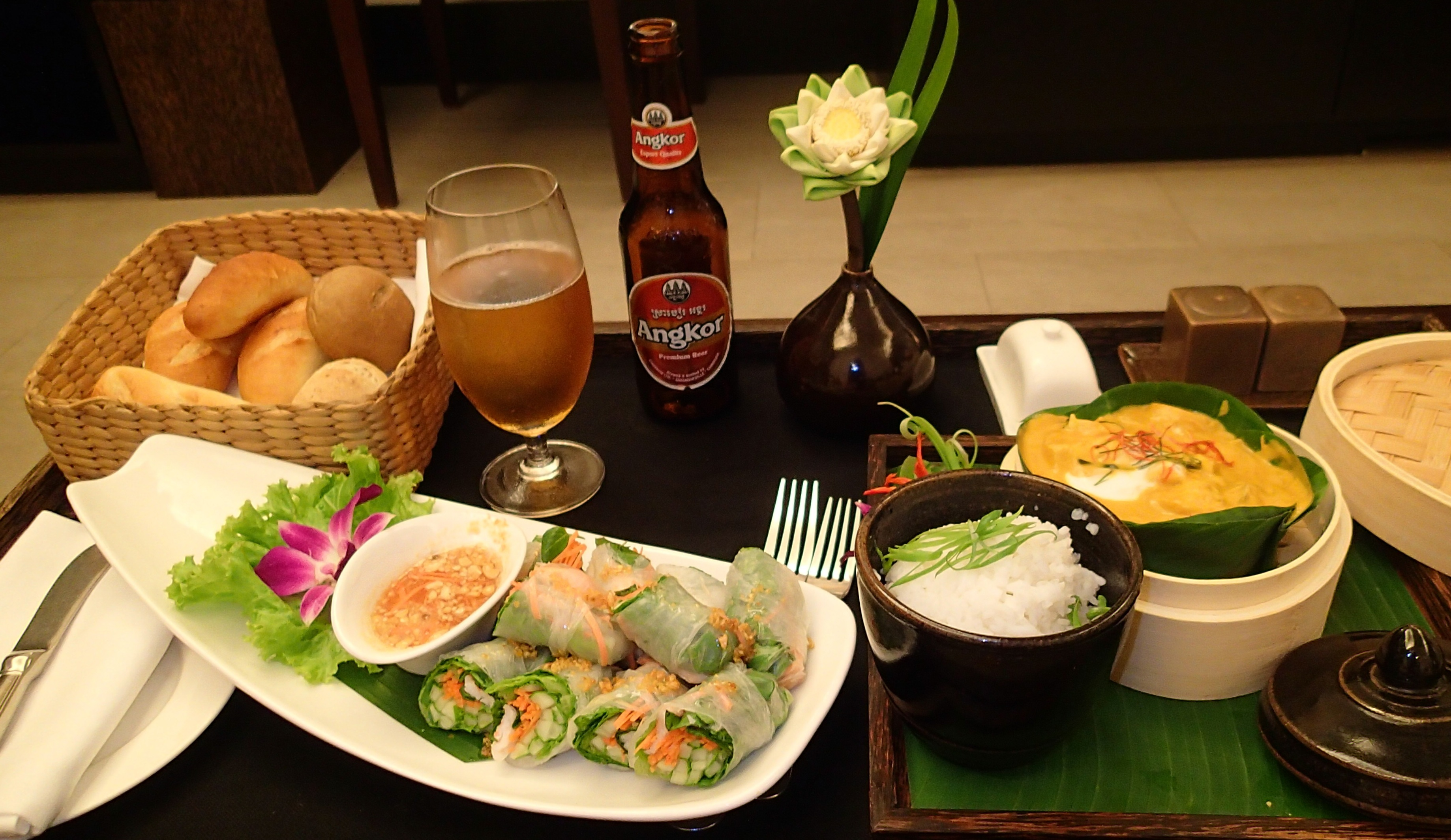 Siem reap a mini guide sybarite unlimited for Angkor borei cambodian cuisine