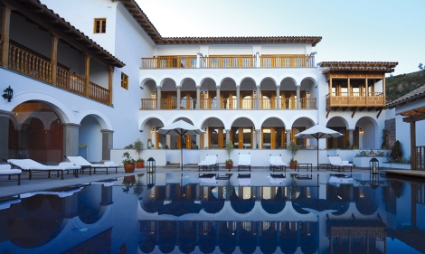 Belmond Palacio Nazarena and its heated outdoor swimming pool