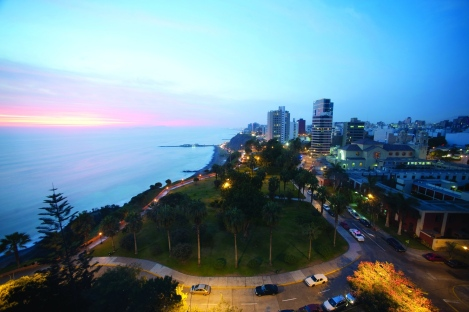 The view from Belmond Miraflores Park Hotel