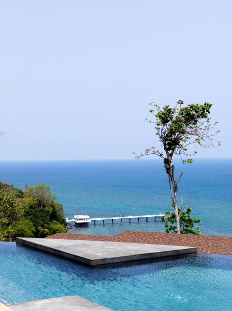 Amari Phuket OW Clubhouse pool and jetty