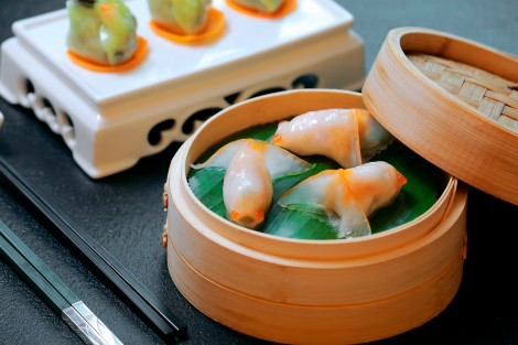 The dim sum at Greater China Club is created by a chef who formerly worked at a three-star Michelin Chinese restaurant.