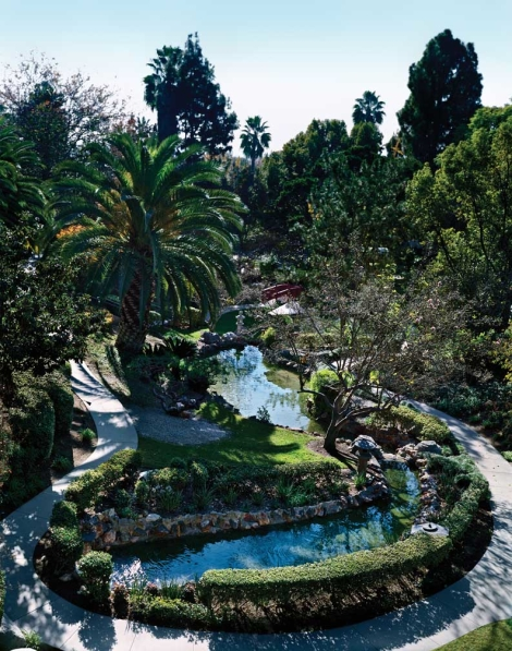Commune with nature in the Japanese Garden at The Langham Huntington, Pasadena